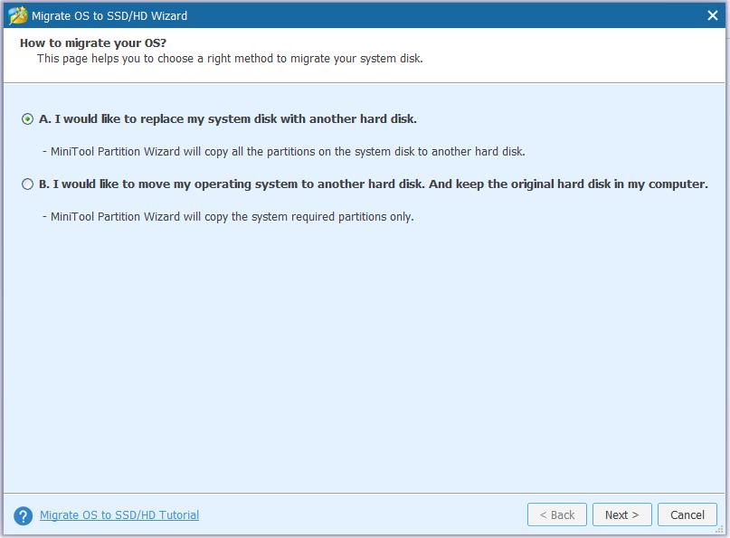 ssd migration windows 10 install